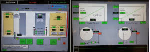 Winder control & Diameter calibration HMI